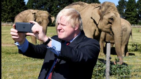 Boris Johnson sieht Großbritannien zur