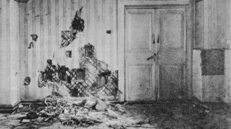 In diesem Haus wurde 1918 die Zarenfamilie ermordet.