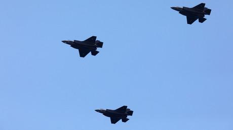 Archivbild: F-35-Kampfflugzeuge der israelischen Luftwaffe.