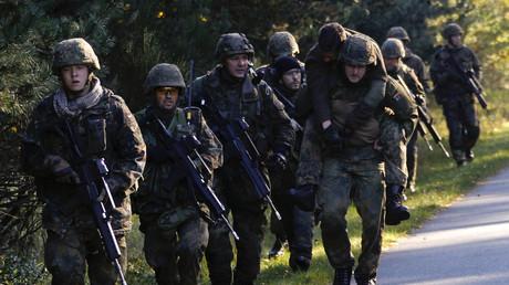 Physisch überfordert? Bundeswehrsoldaten bei der Ausbildung