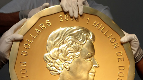 Eingeschmolzen? Eine Münze wie diese wurde im März 2017 aus dem Berliner Bode-Museum gestohlen.