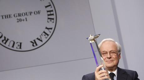 Baron David de Rothschild, ehemaliger Vorstandsvorsitzender der Rothschild Gruppe
