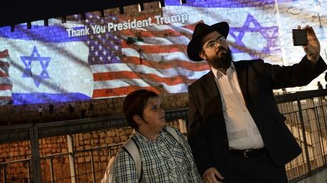 Freude über die Verlegung der US-Botschaft von Tel Aviv nach Jerusalem.