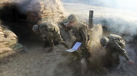 US-Soldaten in einer Übung in Afghanistan (Archivbild, 2012 )
