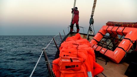 Spanische Seenotretter helfen innerhalb von zwei Tagen gut 1.400 Flüchtlingen im Mittelmeer (Archivbild)