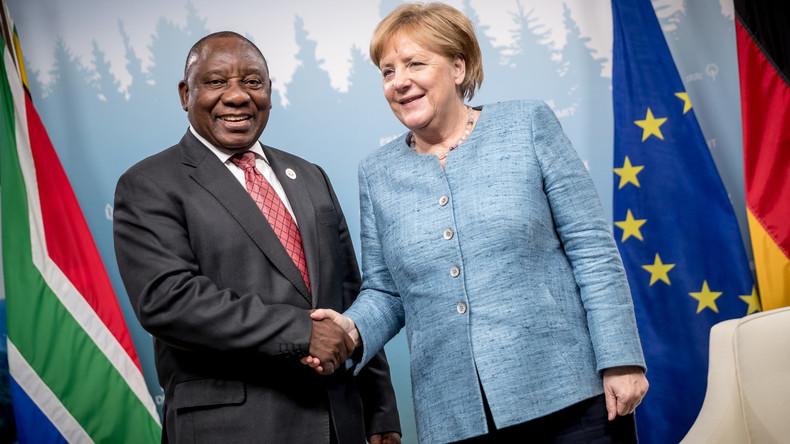 Südafrikas Präsident will Verfassung ändern, um Enteignung weißer Farmer zu legalisieren