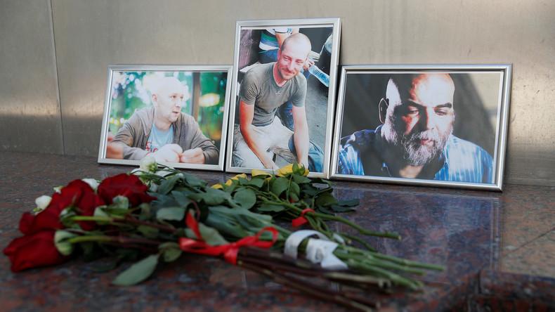 Russisches Außenministerium bestätigt Identität der in Zentralafrika getöteten Journalisten