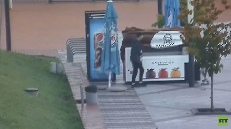 Niemanden zu sehen, heißt nicht, dass keiner zusieht: Jugendliche in Kaliningrad per Video überführt