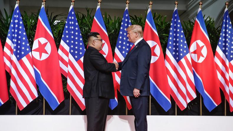 """""""Ich freue mich darauf, Sie bald wiederzusehen"""": Trump deutet weiteres Treffen mit Kim Jong Un an"""