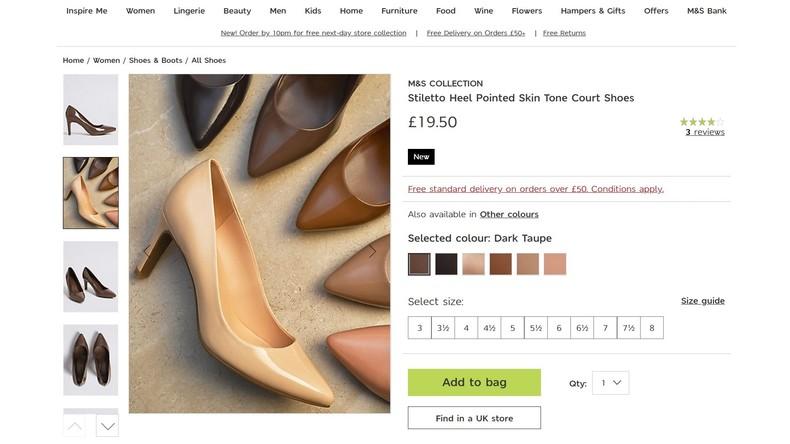 Schuhe gegen Rassismus: Britische Firma stellt Pumps in allen Hautfarben her