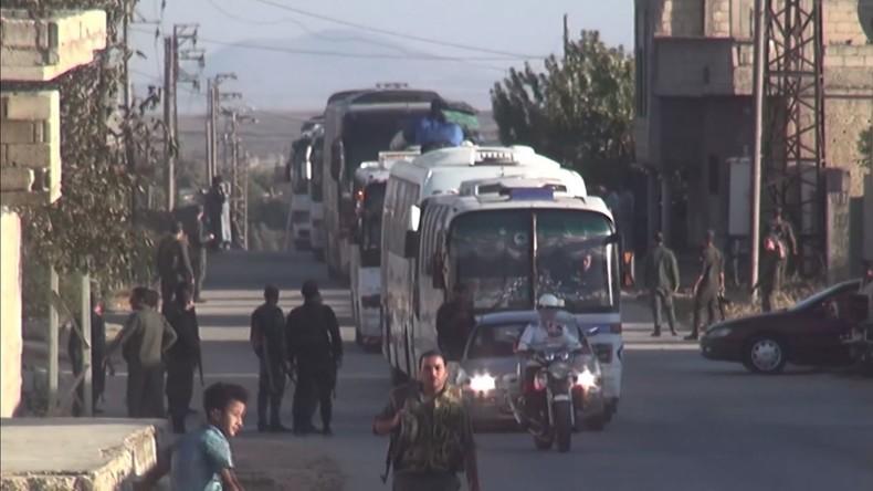 Syrien: Rebellen verlassen Jubata al-Khashab nach Versöhnungsabkommen mit Regierung