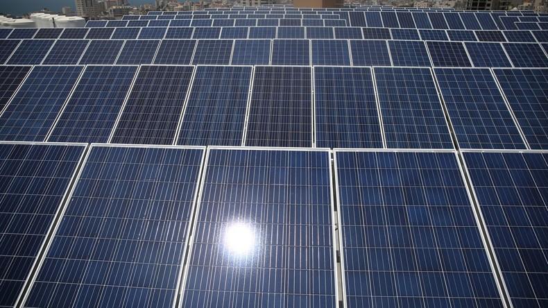 Neuer Solarpark für den Gazastreifen fertig