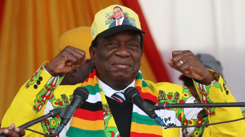 Simbabwe: Mnangagwa gewinnt Wahl - Opposition widerspricht