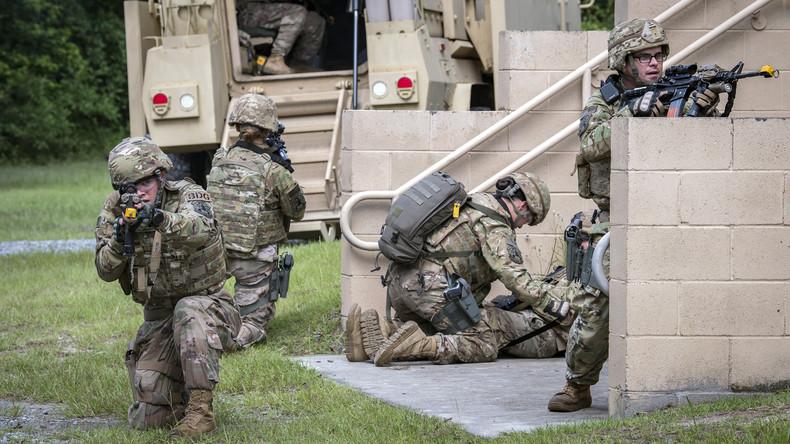 USA: Falscher Alarm auf Luftwaffenbasis wegen einer Schießerei-Übung