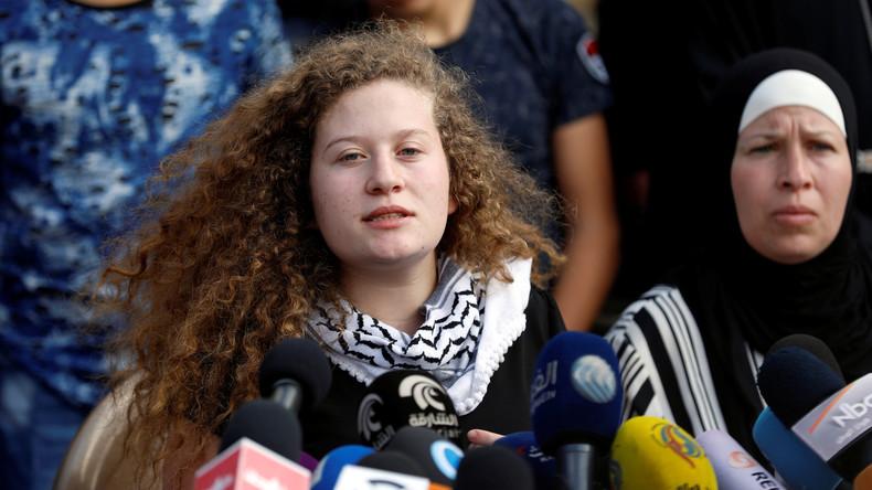 """Aktivistin Ahed Tamimi: """"Bin bereit, für Palästina wieder ins Gefängnis zu gehen"""" (Video)"""