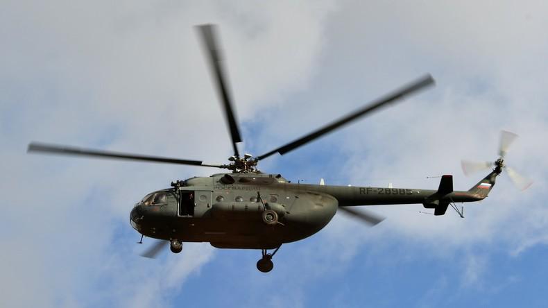 18 Menschen sterben bei Hubschrauber-Absturz in Russland