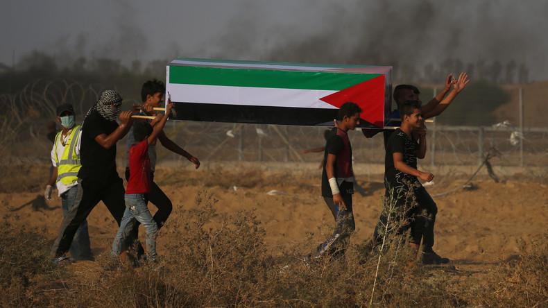 Palästinenser stirbt nach Zusammenstößen an Gaza-Grenze