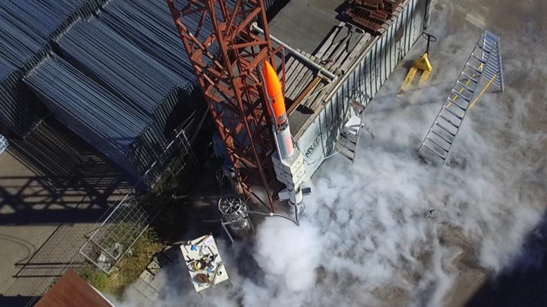 Dänische Raumfahrt-Amateure schießen Rakete in 6.500 Meter Höhe