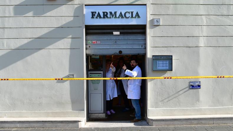 Italienische Polizei fasst Serienräuber: 60-Jähriger überfällt sechs Apotheken in einem Jahr