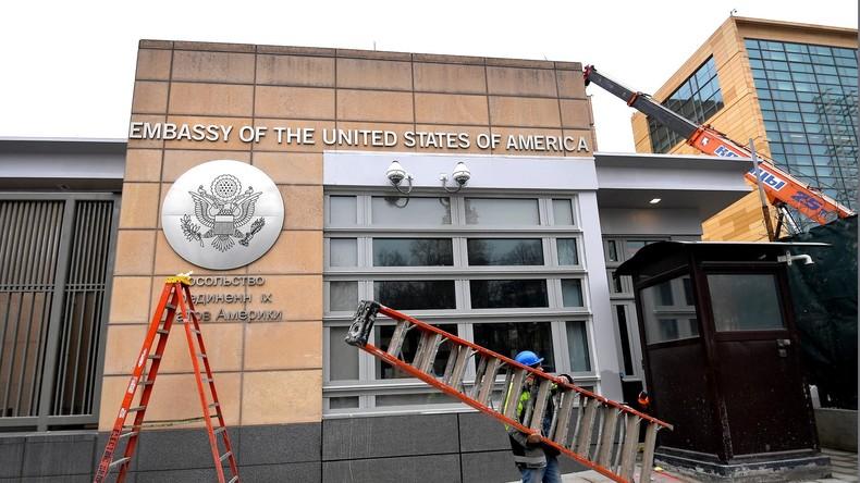 Bericht: Angebliche Spionin in Moskauer US-Botschaft war Russin und vom US-Geheimdienst angeheuert