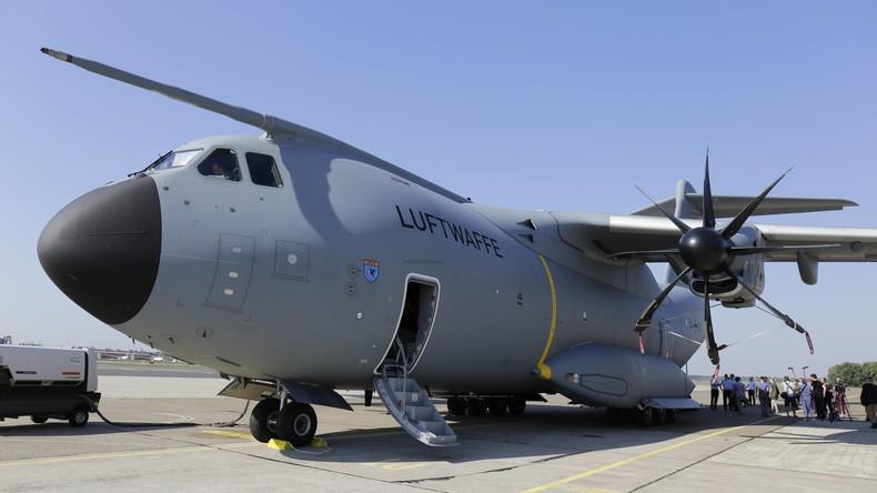"""Der """"Problemvogel"""" der Bundeswehr: Nur acht Transportflugzeuge A400M einsatzbereit"""