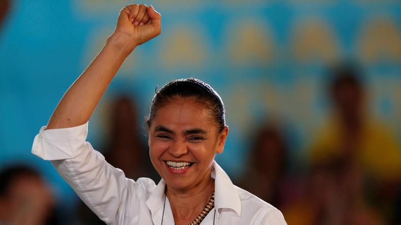 Brasiliens Ex-Umweltministerin Marina Silva bewirbt sich um Präsidentenamt