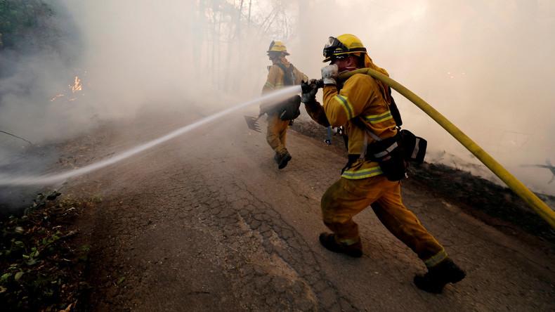 Kalifornien beantragt wegen Waldbränden Hilfe in Washington