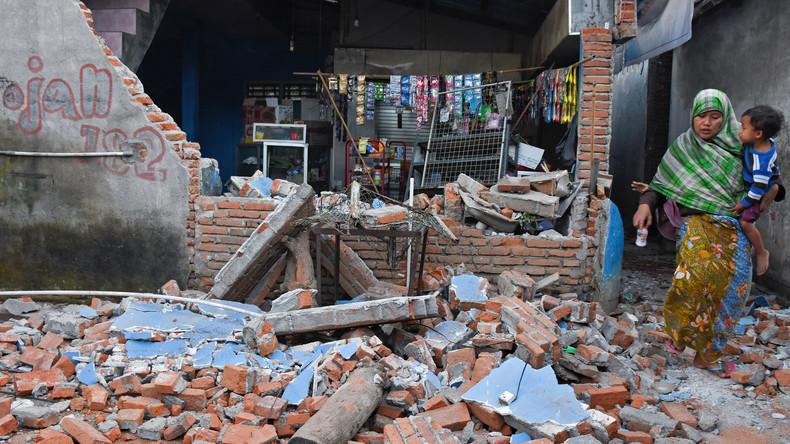 Indonesien: Über 90 Tote nach neuem Erdbeben vor Ferieninsel Lombok nahe Bali