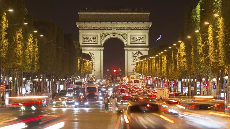 Paris: Autoverkehr wegen hoher Ozonbelastung erneut eingeschränkt
