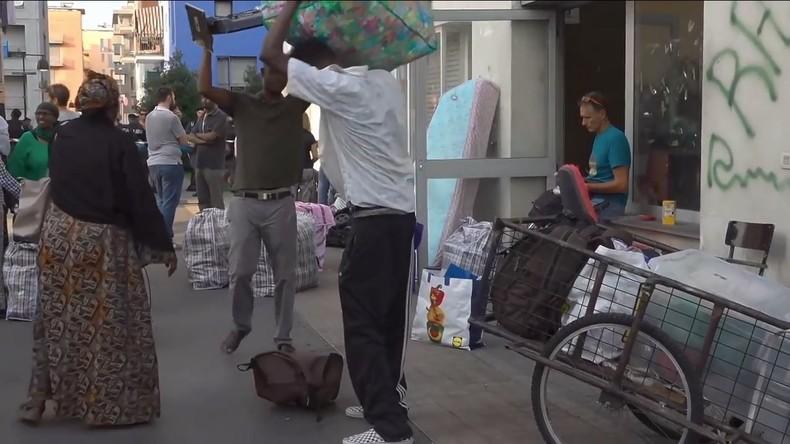 Von 100 Migranten besetztes ehemaliges Olympisches Dorf in Turin geräumt