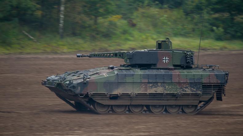 Handicap bei neuen Bundeswehr-Panzern - Soldaten dürfen nicht größer als 1,84 Meter sein