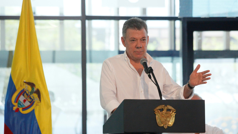 """""""Hatte Wichtigeres zu tun"""": Kolumbiens Präsident weist nach Attentat auf Maduro Vorwürfe zurück"""