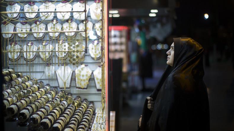 Im Angesicht neuer US-Sanktionen: Iraner kaufen landesweit Gold auf
