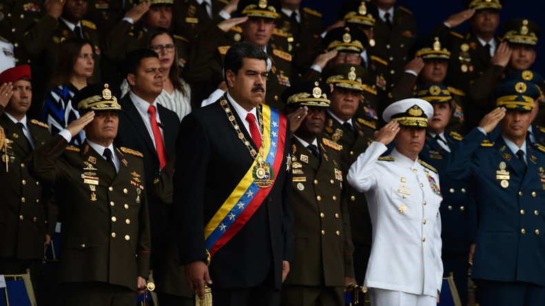 """""""Versuch, Venezuela zu destabilisieren"""": Moskau verurteilt mutmaßlichen Drohnenangriff auf Maduro"""