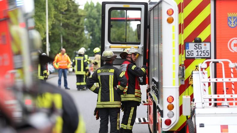 Feuer in Flüchtlingsheim: Polizei vermutet Brandstiftung