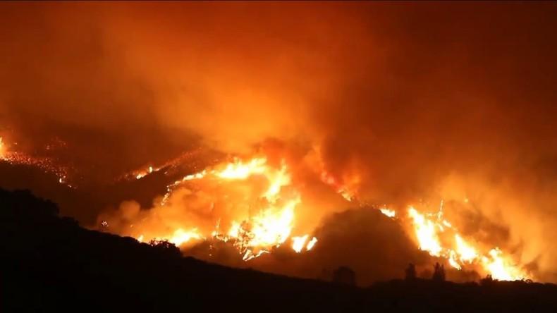 USA: Kalifornien erlebt schwerste Waldbrände in der Geschichte des Bundesstaates