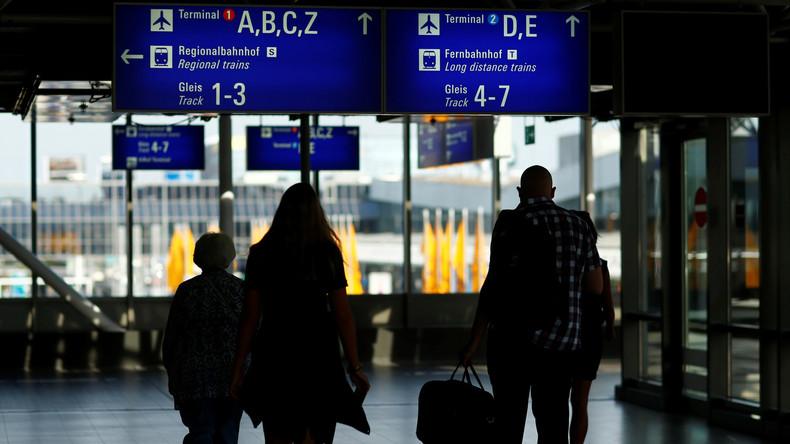 Sofortiger Boardingstopp: Polizeieinsatz am Frankfurter Flughafen
