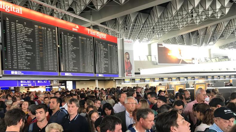 Französische Familie Auslöser für Teilsperrung am Frankfurter Flughafen