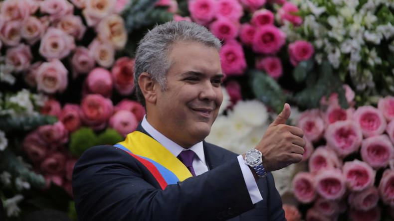 Konservativer Duque als neuer Präsident Kolumbiens vereidigt