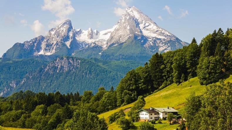 Waldbrand im Nationalpark Berchtesgaden ausgebrochen