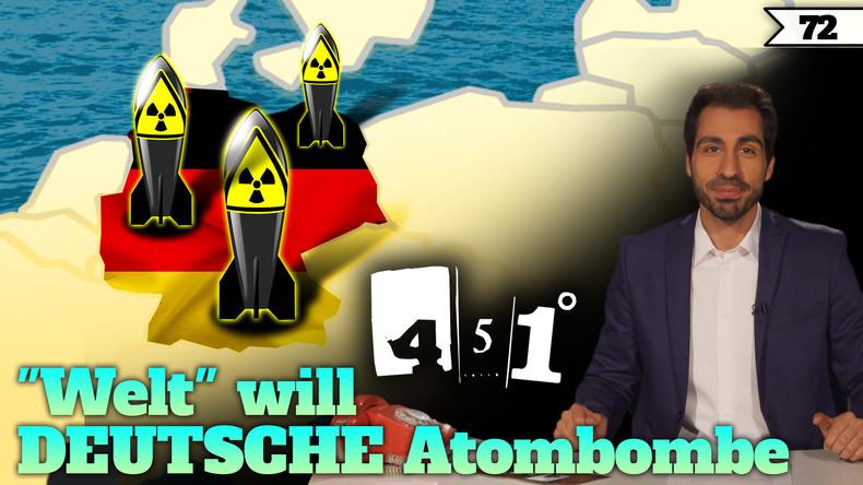 Atombombe für Deutschland !? Denker fordern Atomwaffen | 451 Grad | 72