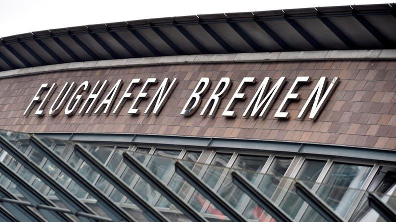 Sicherheitsalarm Bremer Flughafen vorübergehend gesperrt