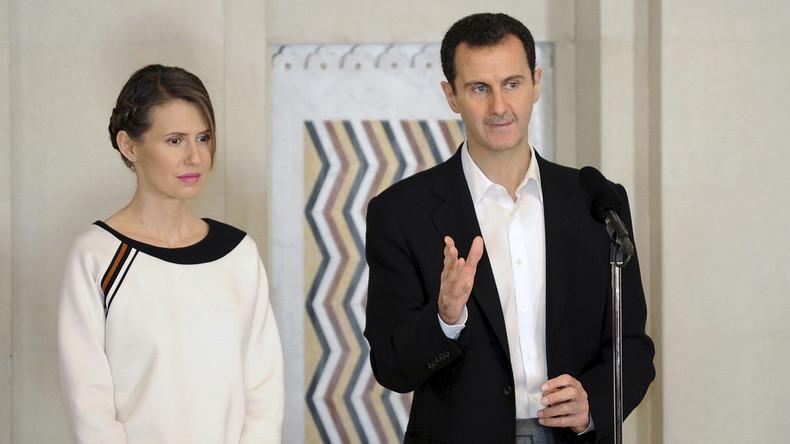 Asma al-Assad im Krankenhaus: Syriens First Lady kämpft gegen Brustkrebs