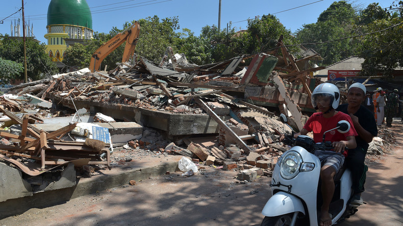 Indonesien: Starkes Nachbeben erschüttert Ferieninsel Lombok