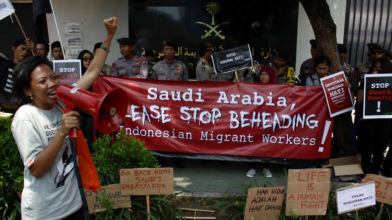 Saudi-Arabien: Verbrecher aus Myanmar in Mekka enthauptet und gekreuzigt