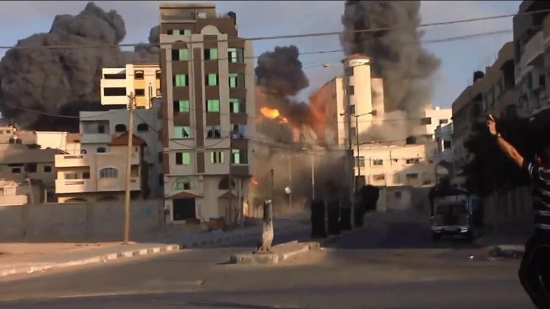 Palästina: Kulturzentrum von Gaza durch israelischen Luftangriff zerstört