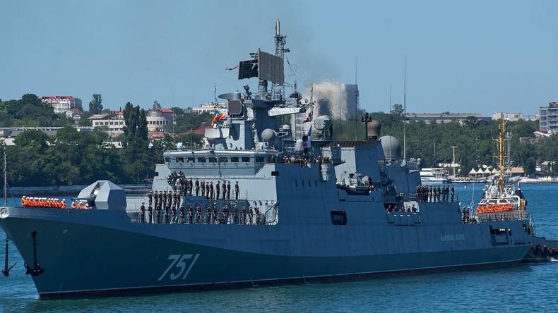Doch nicht so unsichtbar: Russisches Kriegsschiff spürte Atom-U-Boot der US-Marine auf