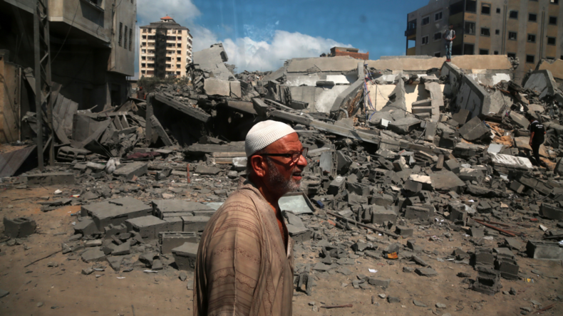 Waffenruhe im Gazastreifen (Video)