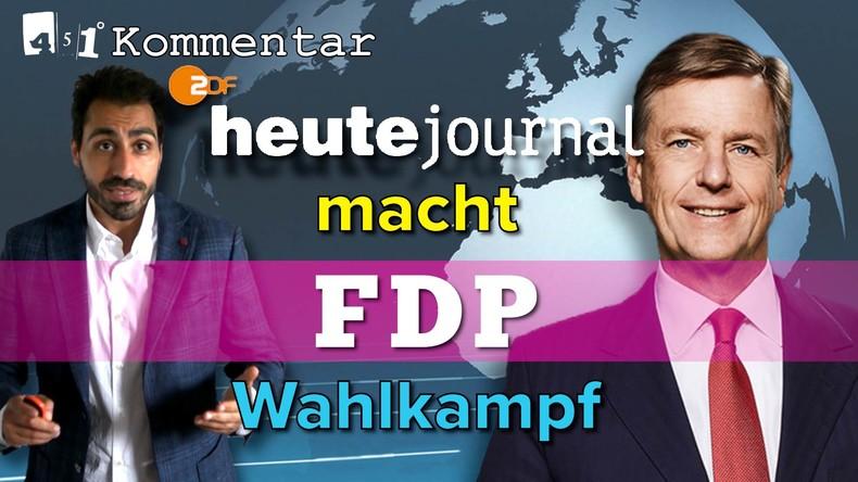 ZDF-Erklärung zum FDP-Skandal ist ein SKANDAL | KOMMENTAR 451 Grad