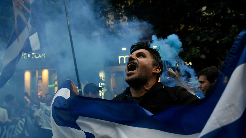 Griechenland wirft Russland Einmischung in Mazedonien vor